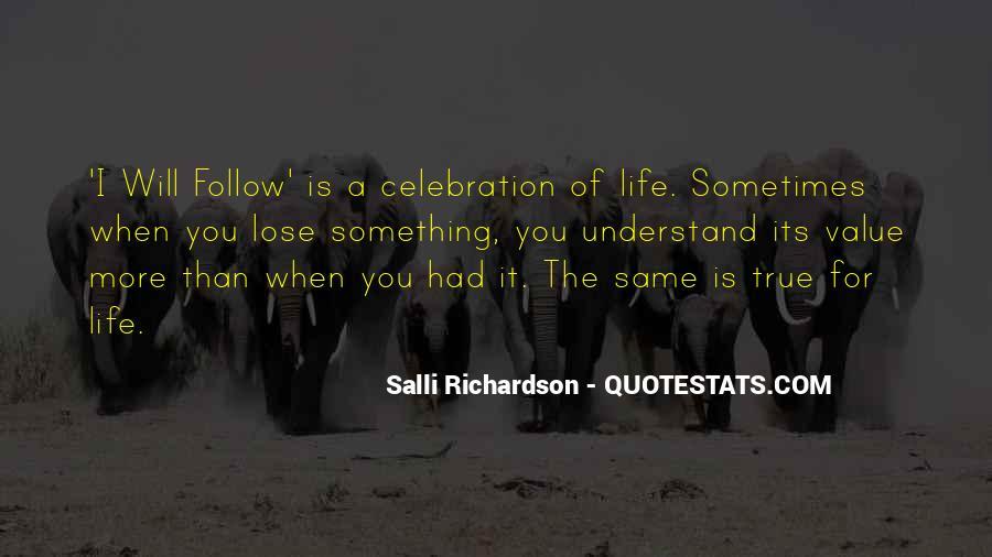Salli Richardson Quotes #690558