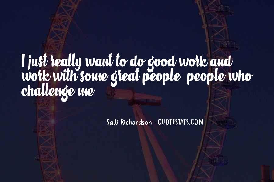 Salli Richardson Quotes #826959
