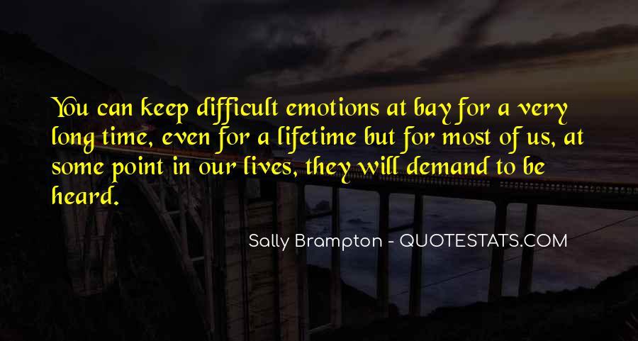 Sally Brampton Quotes #118620