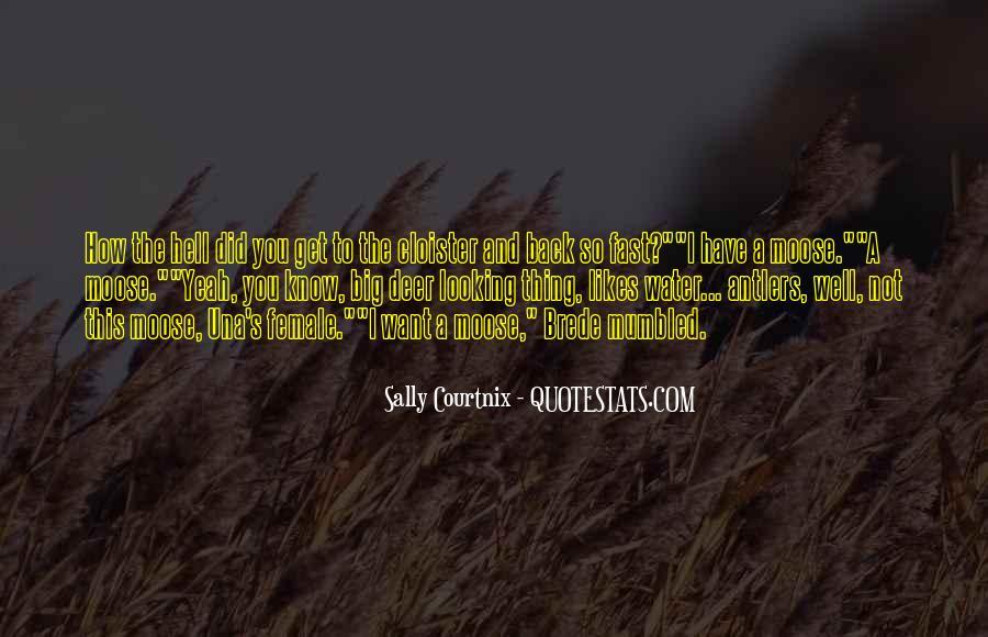 Sally Courtnix Quotes #210832