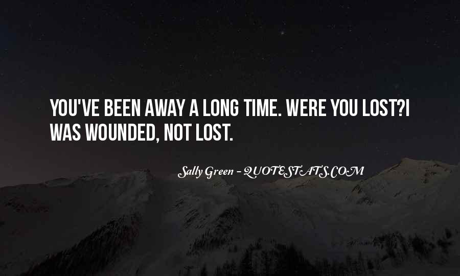 Sally Green Quotes #1061337