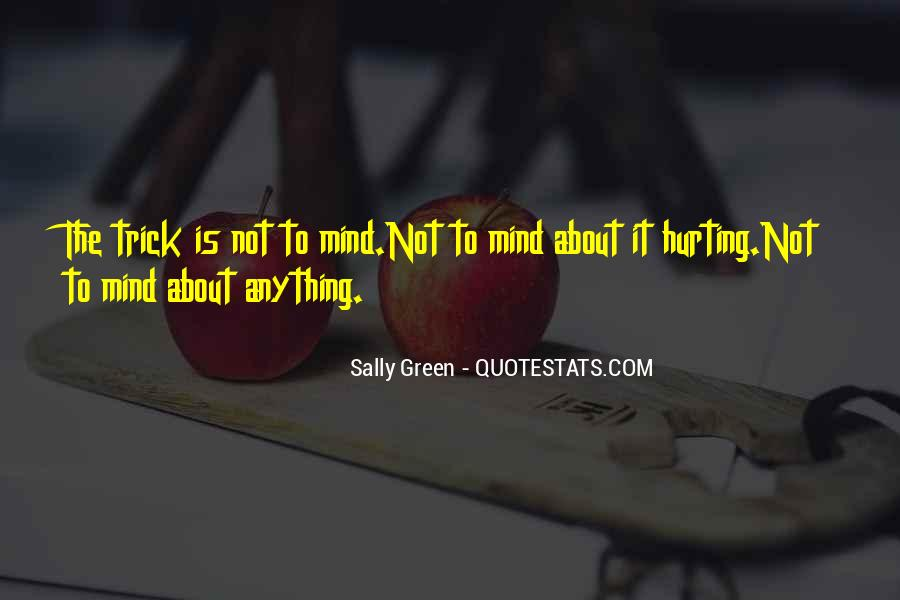 Sally Green Quotes #255890