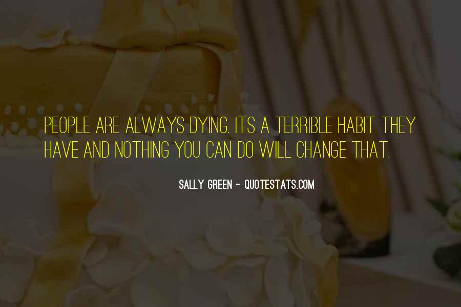 Sally Green Quotes #581822