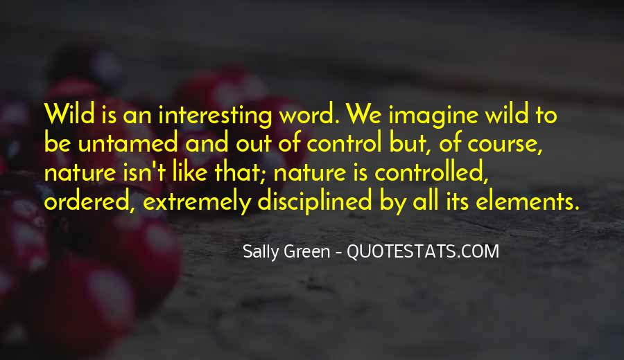 Sally Green Quotes #712282