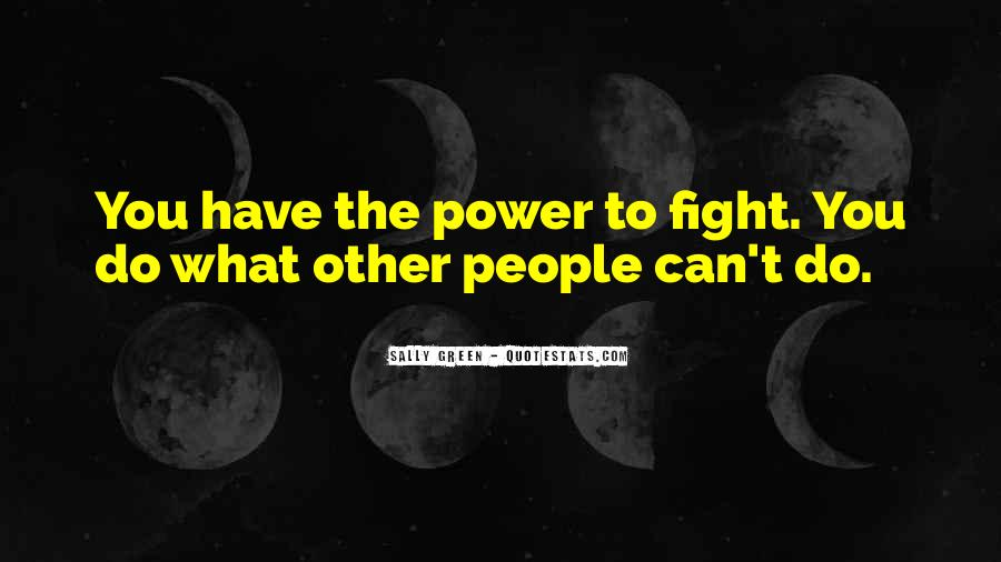 Sally Green Quotes #777068