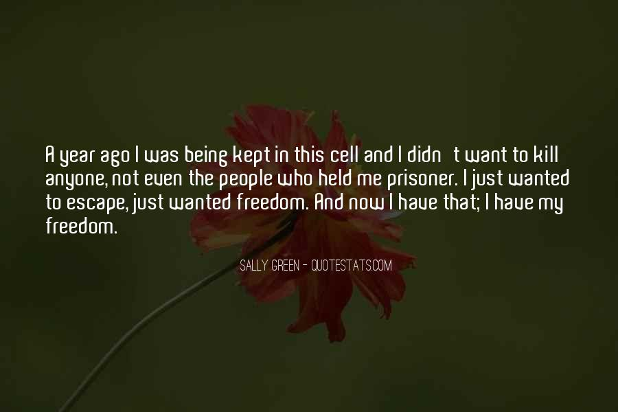 Sally Green Quotes #826923