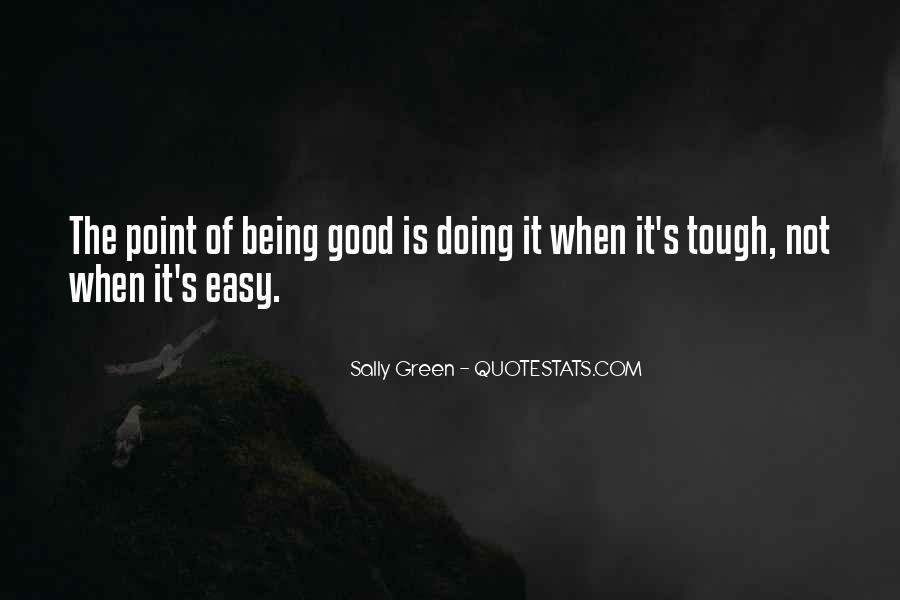 Sally Green Quotes #991087