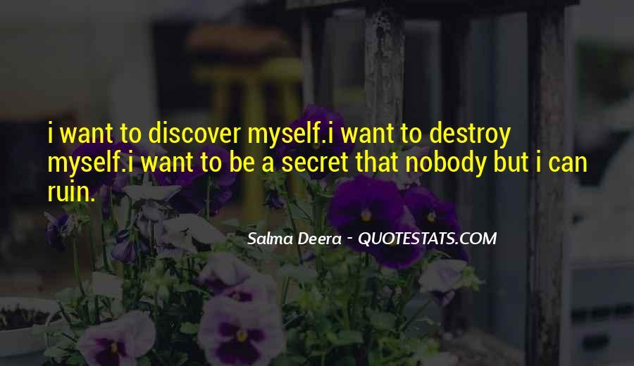 Salma Deera Quotes #300607