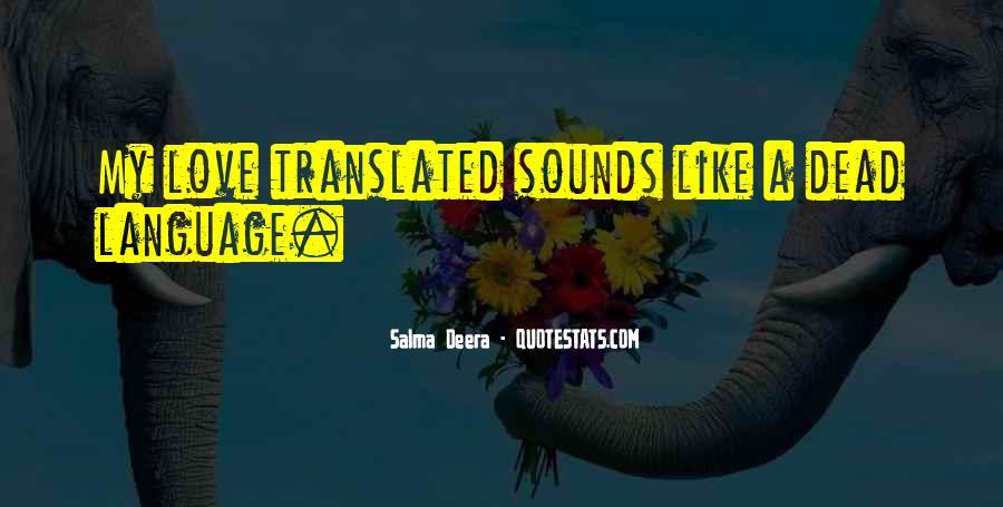 Salma Deera Quotes #306437