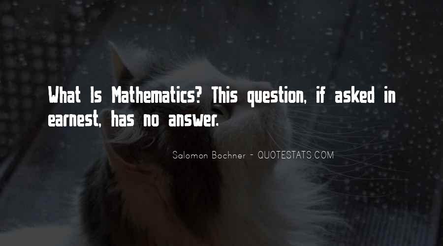 Salomon Bochner Quotes #1639828