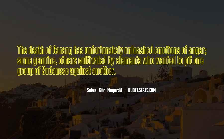 Salva Kiir Mayardit Quotes #1548007
