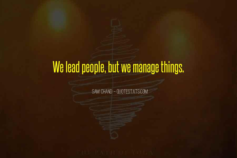 Sam Chand Quotes #403359