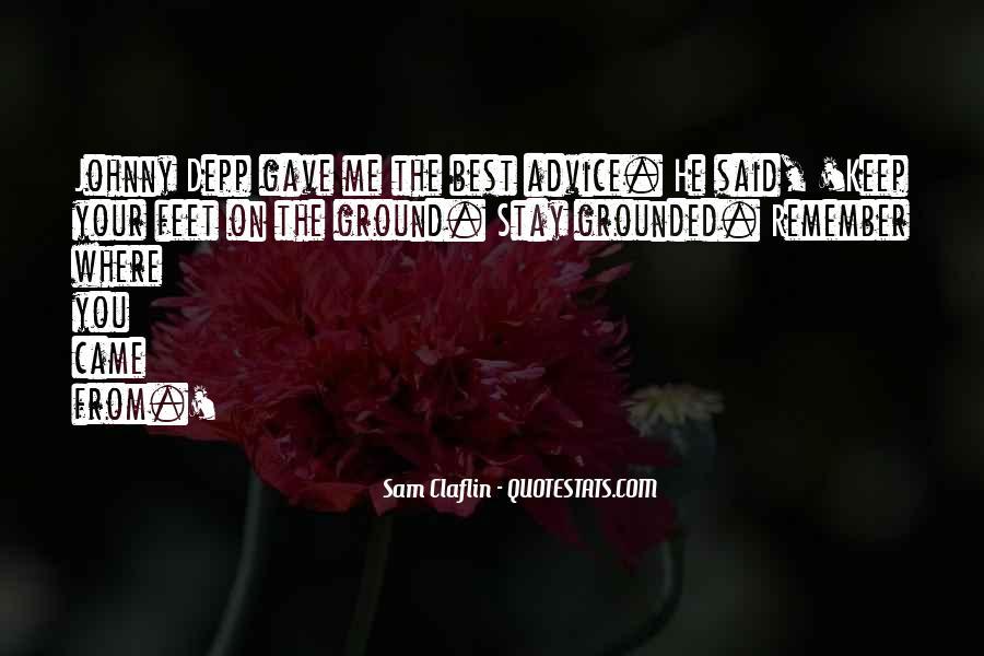 Sam Claflin Quotes #1782905