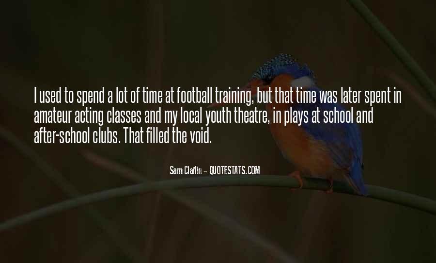 Sam Claflin Quotes #257101