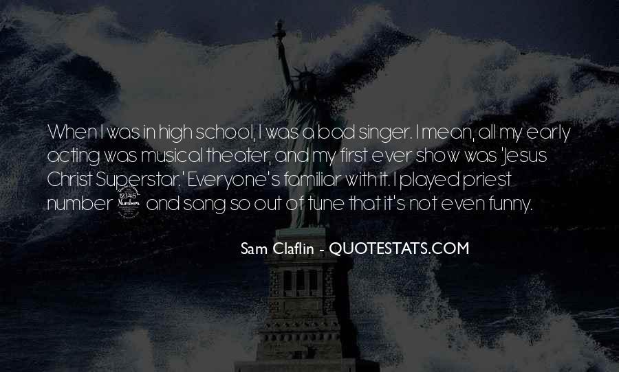 Sam Claflin Quotes #977991