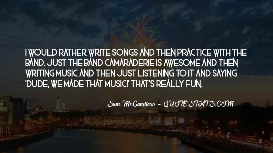 Sam McCandless Quotes #1858343