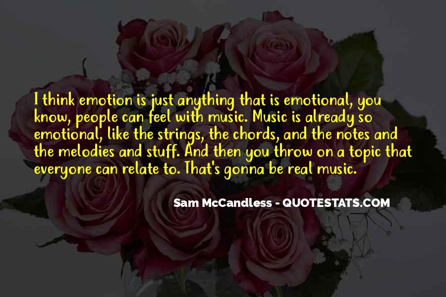Sam McCandless Quotes #439954