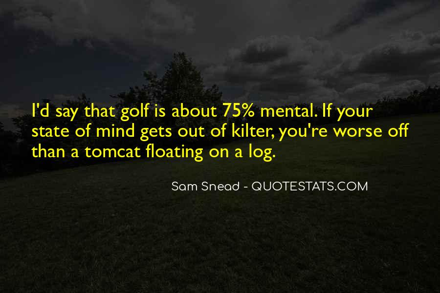 Sam Snead Quotes #1053101