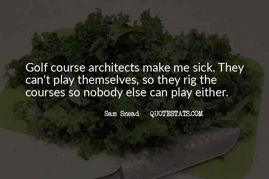 Sam Snead Quotes #1096300