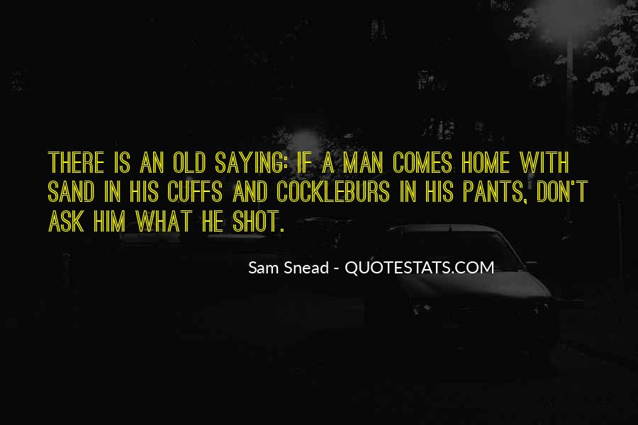 Sam Snead Quotes #1436171