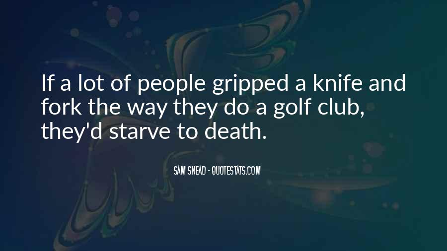 Sam Snead Quotes #281518