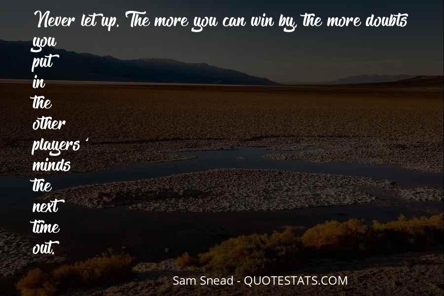 Sam Snead Quotes #411016