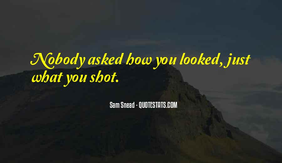 Sam Snead Quotes #63645