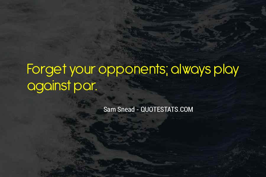 Sam Snead Quotes #7063