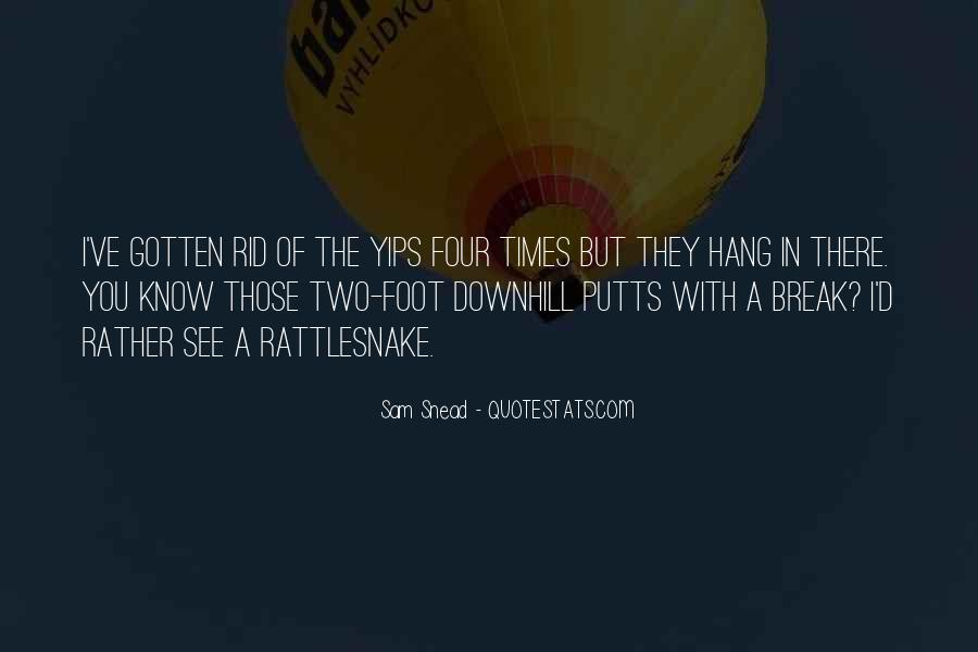 Sam Snead Quotes #73350