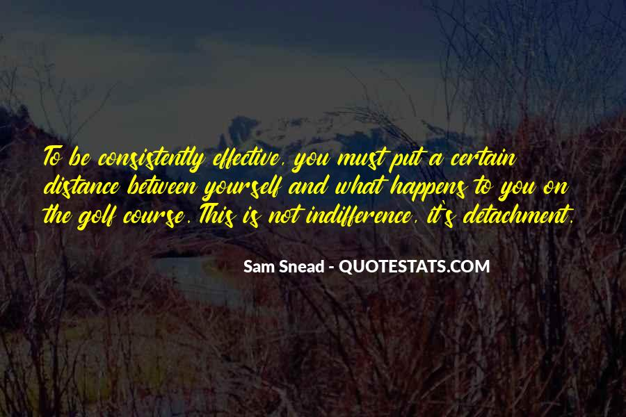 Sam Snead Quotes #856195