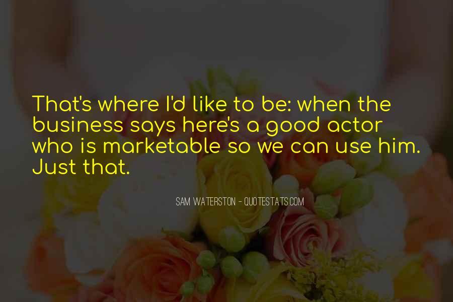 Sam Waterston Quotes #1558736
