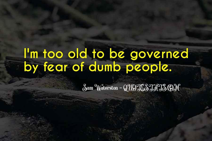 Sam Waterston Quotes #230552