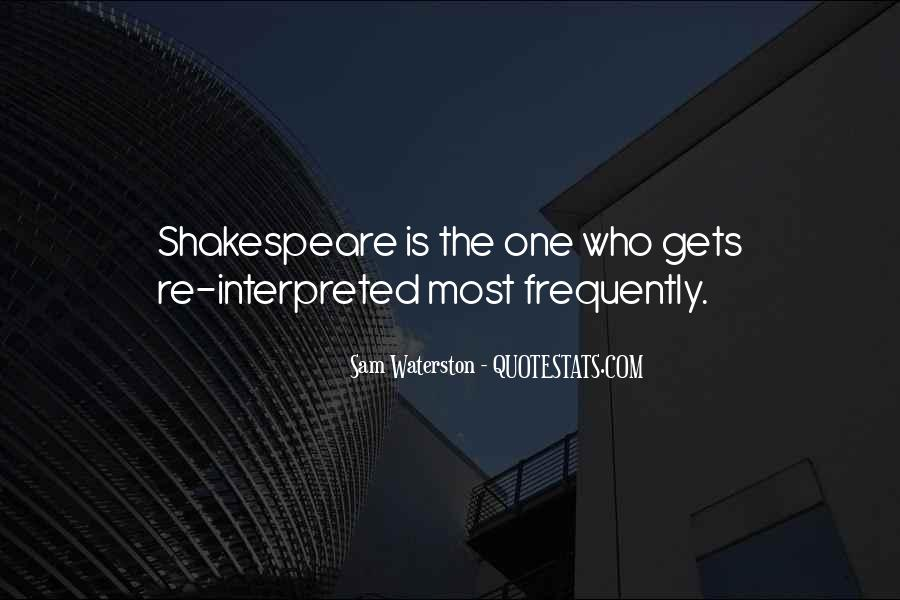 Sam Waterston Quotes #397783