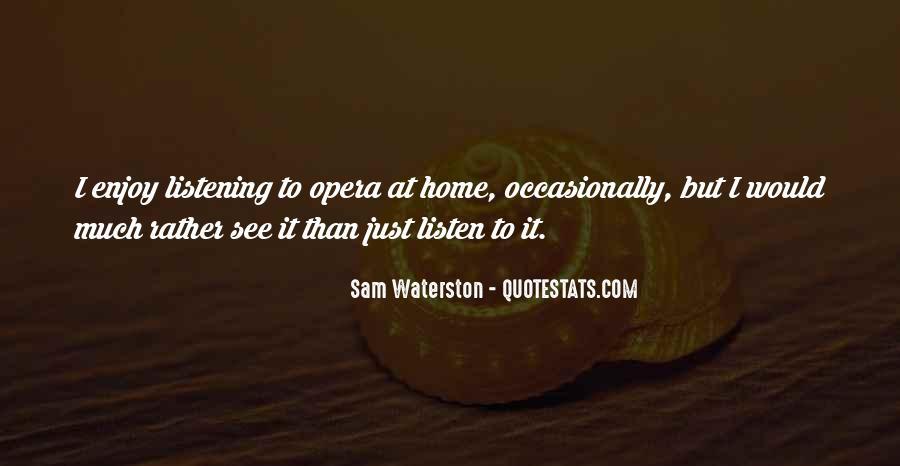 Sam Waterston Quotes #595615