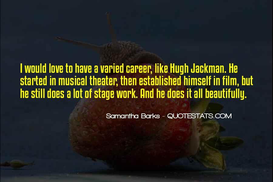 Samantha Barks Quotes #6879