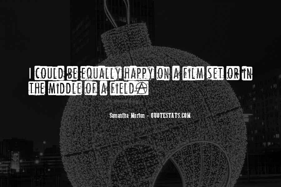 Samantha Morton Quotes #123572