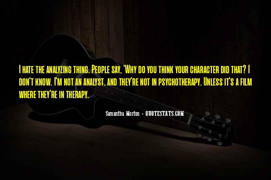 Samantha Morton Quotes #1275469