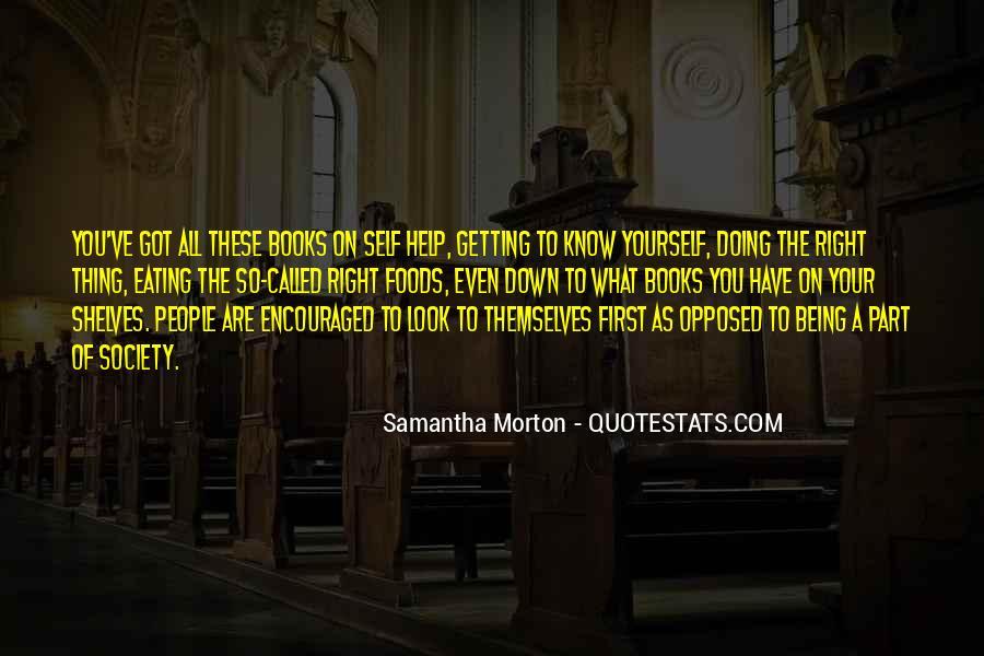 Samantha Morton Quotes #1341351