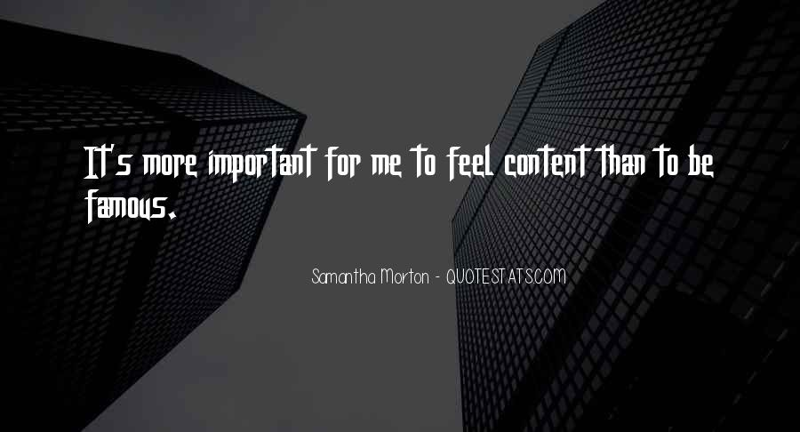 Samantha Morton Quotes #1390360