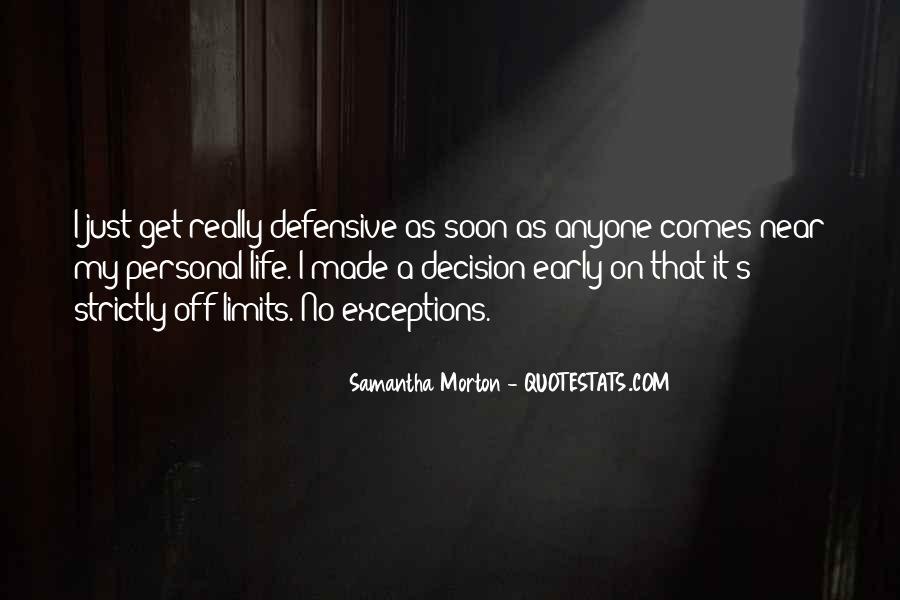 Samantha Morton Quotes #1787162