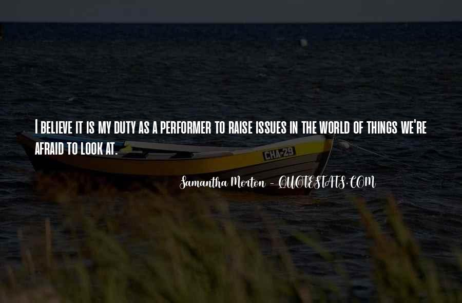 Samantha Morton Quotes #1869524