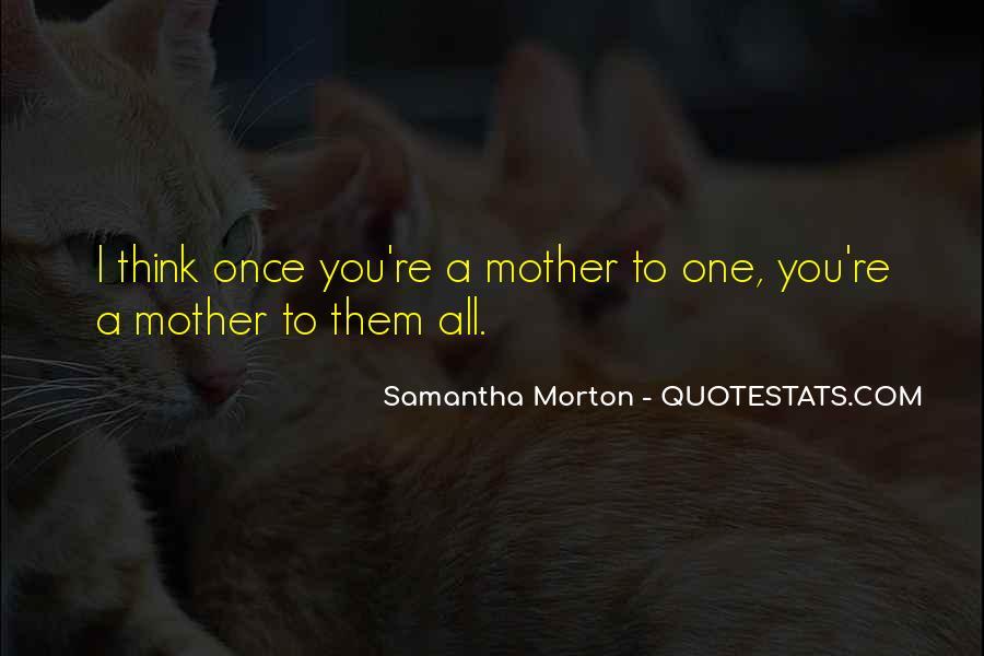 Samantha Morton Quotes #275195