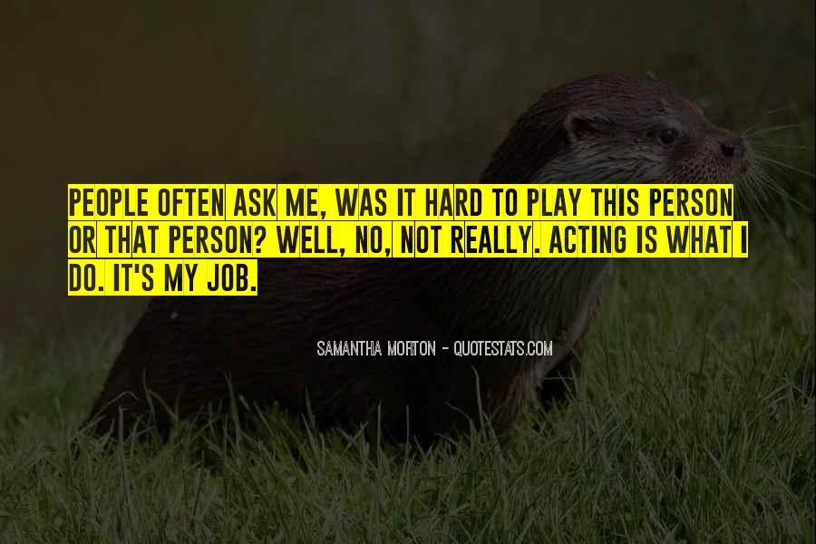 Samantha Morton Quotes #371743