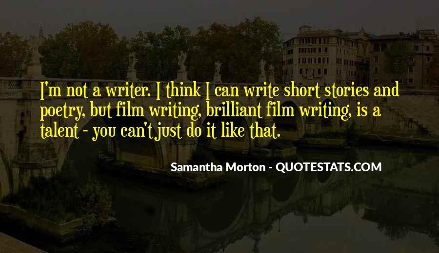 Samantha Morton Quotes #449801