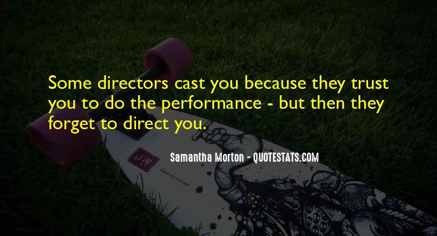 Samantha Morton Quotes #487189