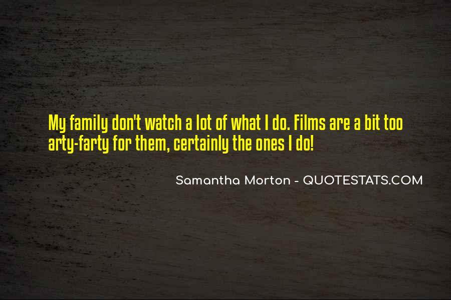 Samantha Morton Quotes #525451