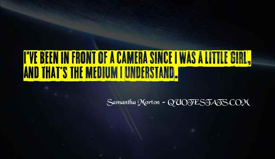 Samantha Morton Quotes #536369