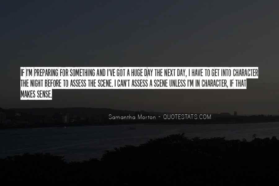 Samantha Morton Quotes #679920