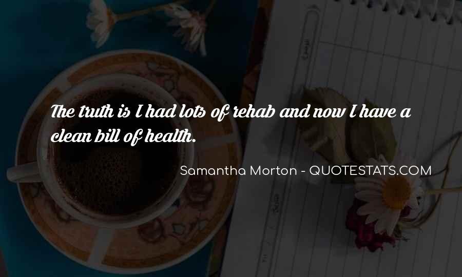 Samantha Morton Quotes #915432