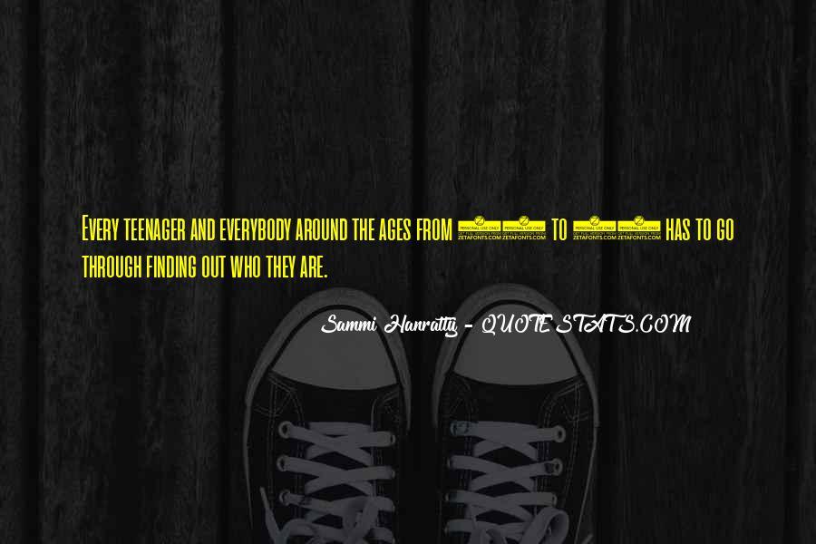 Sammi Hanratty Quotes #1693231